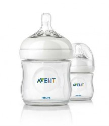 Sutteflaske fra Philips AVENT - PP - Natural - 0m+ (125ml)