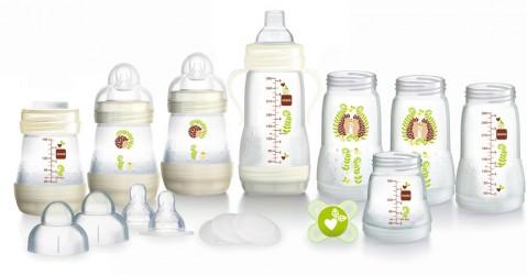 Sutteflaske Startsæt fra MAM - Easy Start - Neutral (15 dele)