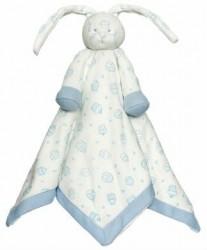 Sutteklud fra Teddykompaniet - Diinglisar Organic - Blue