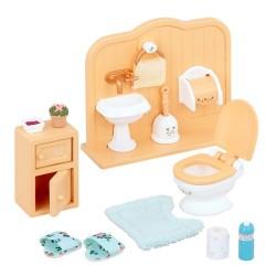 Sylvanian Families badeværelsessæt