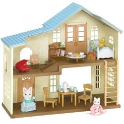 Sylvanian Families dukkehus med møbler - Landsted