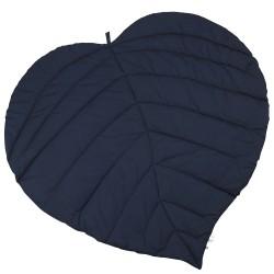 Tæppe fra Müsli - Leaf Blanket - Organic - Navy