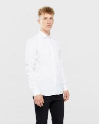 Tailored & Originals langærmet skjorte