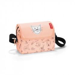 Taske med katte og hunde Rosa