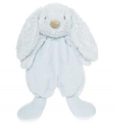 Teddykompaniet Nusseklud - Kanin - 28 cm - Lyseblå
