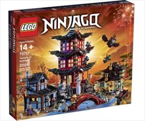 Temple of Airjitzu - 70751 - LEGO Ninjago