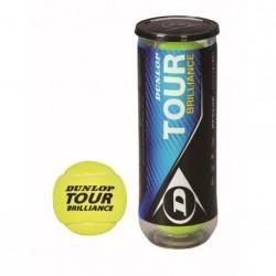 Tennis Bolde Dunlop Tour Brilliance (3 stk.)