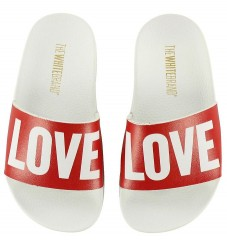 The White Brand Badesandaler - Love