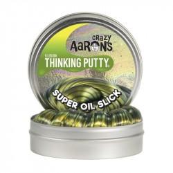 Thinking putty, super oil slick