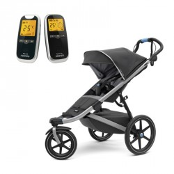 Thule Urban Glide 2 Dark Shadow+Neonate 5800 Babyalarm