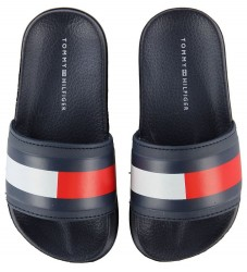 Tommy Hilfiger Badesandaler - Pool Slide - Navy