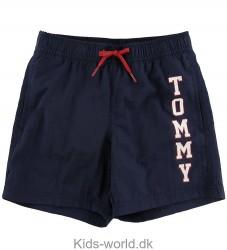Tommy Hilfiger Badeshorts - Navy m. Logo