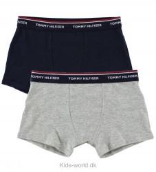 Tommy Hilfiger Boxershorts - 2-pak - Gråmeleret/Navy