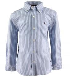 Tommy Hilfiger Skjorte - Oxford - Blåstribet