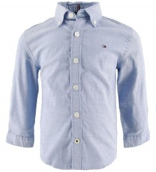 Tommy Hilfiger Skjorte - Stretch Oxford - Blå