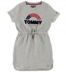 Tommy Hilfiger Sweatkjole - Gråmeleret