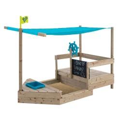 TP World of Play sandkasse/legebåd