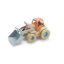 Traktor med grab til sandkasse BIOPlast fra dantoy