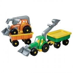 Traktor Med tilbehør
