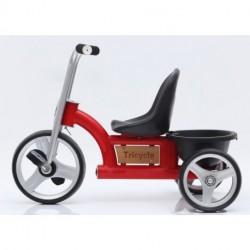 Trehjulet Cykel RASK Rød med lad 2 - 5 år