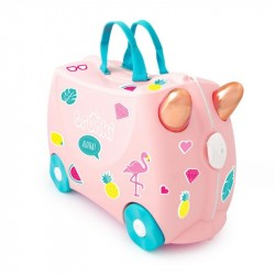 Trunki kuffert, Flossi flamingo