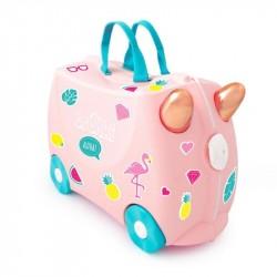 Trunki kuffert, Flossi flamingo