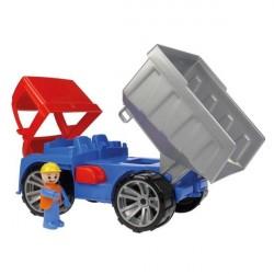 Truxx Dumper Lastbil, 27 cm