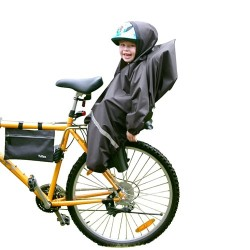 Tullsa regnslag til cykelstol