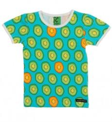 Turkis Kiwi T-shirt Fra Villervalla
