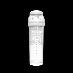 Twistshake Anti-kolik sutteflaske 330ml - Hvid