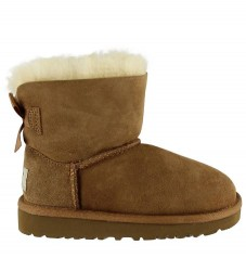 UGG Bamsestøvler - Mini Bailey Bow - Brun