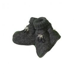 Uld Grå - Futter soft wool fra Joha 97972/716-15205