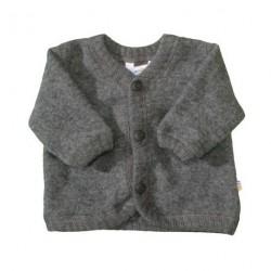 Uld Grå - Jakke soft wool fra Joha 16592/716-15205