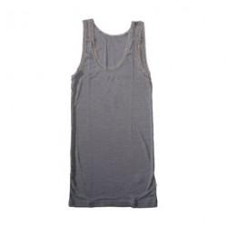 Uld/silke lysegrå - Top blonder voksen fra Joha 72244-195-15147