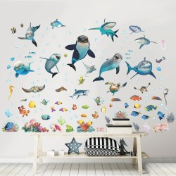 Under Havet Wallstickers