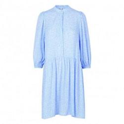 Undine Blue Print Corry Dress 31487693 fra mbyM