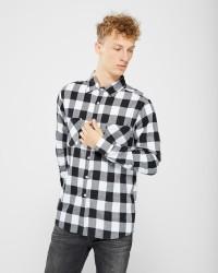 Urban Classics langærmet skjorte