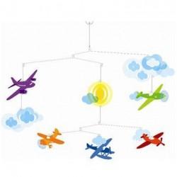 Uro Flyvemaskiner fra Djeco Little Big Room