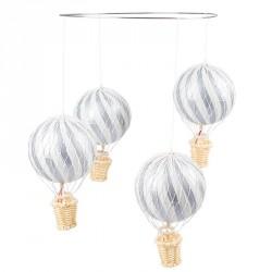 Uro m. luftballoner fra Filibabba i Sølv