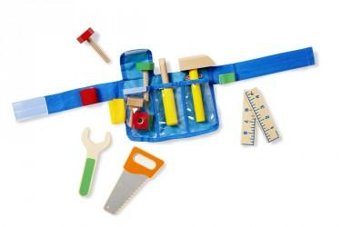 Værktøj fra Melissa & Doug - Deluxe Wooden Tool Belt