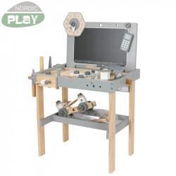 Værktøjsbænk med tilbehør NORDIC PLAY NATURE