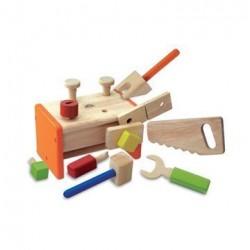 Værktøjskasse i træ - Wonderworld