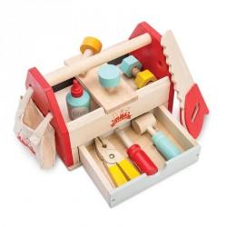 Værktøjskasse med værktøj hos Babytoys.dk