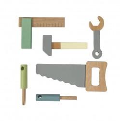 Værktøjssæt i træ fra Sebra
