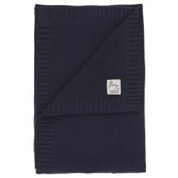 Vanilla Copenhagen babytæppe - Navy blå