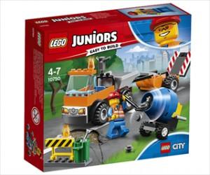 Vejarbejdsvogn - 10750 - LEGO Juniors