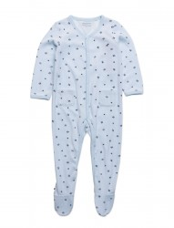 Velours Baby Coverall L/S