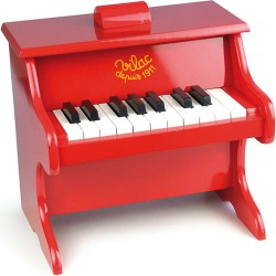 Vilac klaver - Rødt
