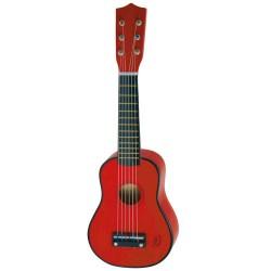 Vilac rød guitar i bøgetræ