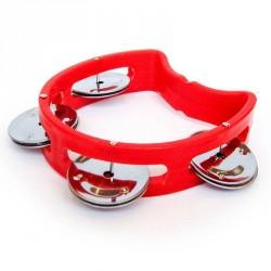 Vilac tamburin i rød